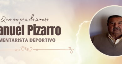 Fallece Manuel Pizarro  comentarista deportivo de Radio Latina