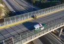 Joven de 19 años intentó lanzarse de la pasarela ubicada en el troncal Sur en Quilpué