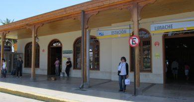 Módulo Junaeb disponible en la Estación de Limache #RenovaciónTNE