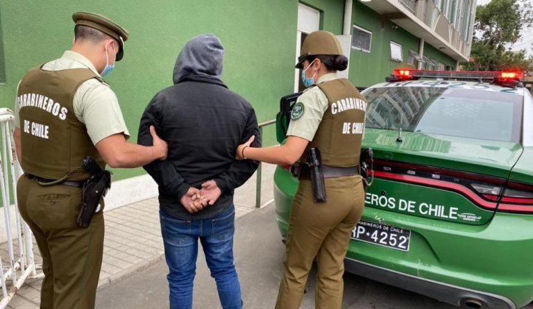 Detenido trató de sobornar a Carabinero
