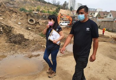9 familias damnificadas y 4000 hectáreas perdidas por el incendio en Quilpue